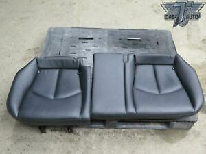 07 09 Mercedes W211 E Class Rear Leather Seat Lower Cushion Set Oem