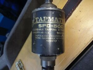 Tapmatic spd 5qc Reversable Tapping Attachment 6 1 2