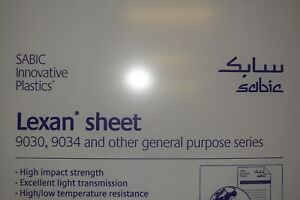 Lexan Sheet 1 4 Clear 36 X 36