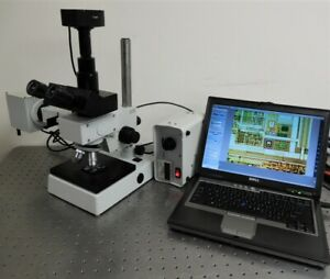 Hund Metallurgical Toolmakers Inspection Microscope With 5mp Camera