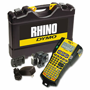 Dymo Rhino 5200 Industrial Label Maker Kit 5 Lines 4 9 10w X 9 1 5d X 2 1 2h