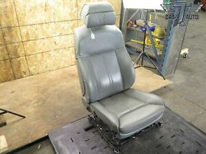 02 08 Bmw E65 66 7 Series Front Left Driver Side Comfort Electric Seat Gray Oem