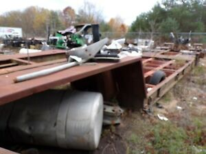 Lowboy Trail W Heavy Ramps 37 Ft Overall 14 5 Ft Lower Deck Repairable