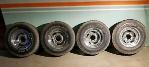 Four Used Yokohama Geolander A t Tires With Steel Wheels Fair Condition