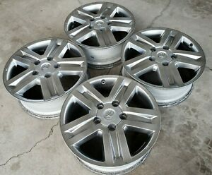 20 Toyota Tundra Sequoia Limited 1794 Oem Factory Stock Wheels Rims Trd Pro