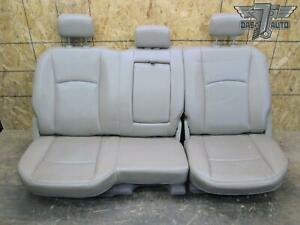 09 18 Dodge Ram 1500 Crew Cab Rear Leather Seat Assembly Oem