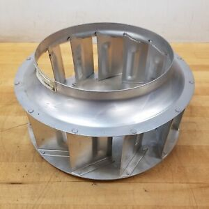 15 Blower Wheel Squirrel Cage 3 4 Bore Used