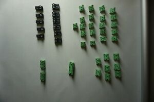 Mixed Lot Of Phoenix Terminal Block Pluggable Connectors Mainly 3 Pin And 4 Pin