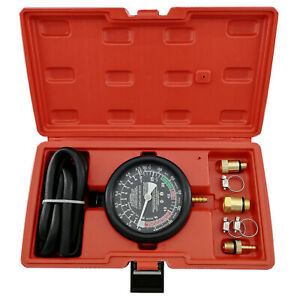 Car Exhaust Back Pressure Tester Set Pressure 2 5 Diameter Gauge Sensor Kit