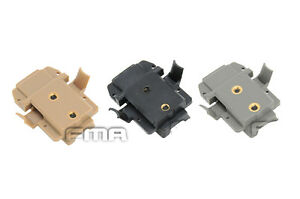 NEW FMA AIRSOFT JUMPPJ amp; BALLISTIC FAST STYLE HELMET X300 TORCH ADAPTOR MOUNT $9.59