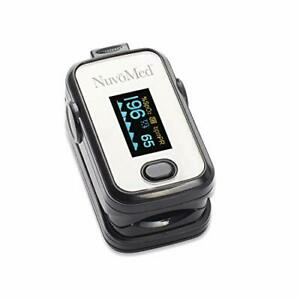 Pulse Oximeter Fingertip Blood Oxygen Monitor Spo2 Monitoring Device