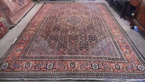 Fine Quality Authentic Large Wool Hand Knotted Persiann Rug Carpet Runner