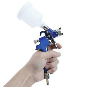 Mini 1 0mm 125cc Detail Spot Touch Up Hvlp Air Spray Paint Gun Regulator Kit