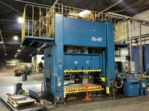 330 Ton Capacity Stamtec Straight Side Press For Sale