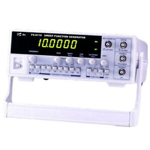 Unisource Fg 8110 10mhz Sweep Function Generator 7 Digit Display