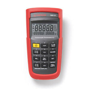 Amprobe Tmd 53 K j Type Dual Input Thermocouple Thermometer
