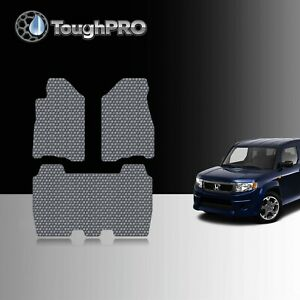 Toughpro Floor Mats Gray For Honda Element All Weather Custom Fit 2007 2011