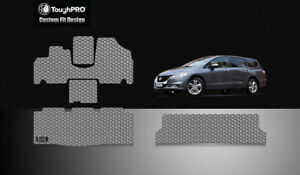 Toughpro Floor Mats 3rd Gray For Honda Odyssey All Weather Custom Fit 2005 2010