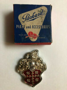 Packard Grill Emblem Nos Ultra Rare And Perfect caribbean patrician 400