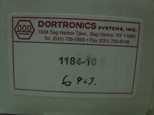 Dortronics Lock 1180 Series Maglock Accessories Filler Plate Kit 1184 10 New