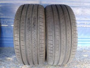 2 Pirelli Cinturato P7 A s 245 40 18 Audi With 8 8 5 32nd Tread Left 93 H