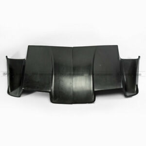 2pcs Car Rear Bumper Under Diffuser Kits Refit For Honda S2000 Frp Part