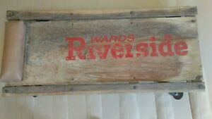 Vintage Ward Riverside Mechanic S Auto Creeper