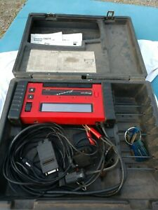 Snap On Mt2500 Scanner With Adapters Manuals Case Keys