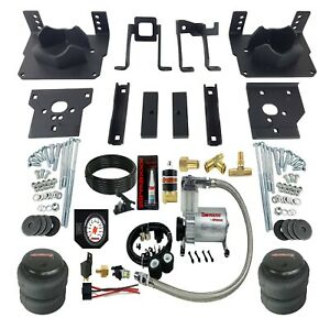 Air Bag Suspension Tow Kit White On Board Control For 2011 16 Ford F250 F350 2wd