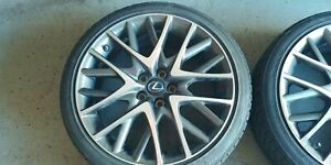 Factory Lexus Rc350f Forged Wheels Oem Sport Coupe Performance 19 Inch No Tires