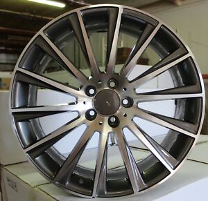 20 Inch Rims Fit Mercedes S63 S560 S550 S500 S450 S400 S Class Staggered Wheels