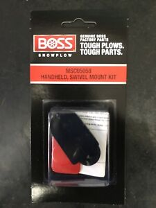 Boss Snow Plow Controler Dash Swivel Mount For Hand Held Controlers Msc05058 Oem