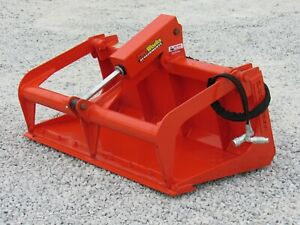 Kubota Bx Sub Compact Tractor Loader 48 Root Rake Clam Grapple Attachment
