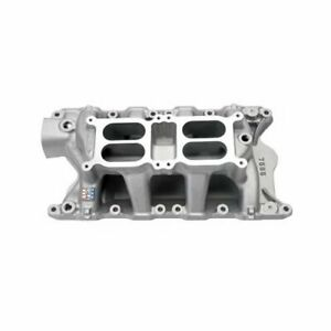 Edelbrock Performer Rpm Dual quad Air gap Intake Manifold 7585 Ford 351w