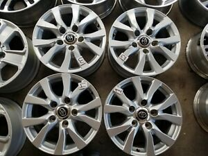 2016 2019 Toyota Land Cruiser 18 Wheels Rims Factory Oem Set Of 4 Free Shippin