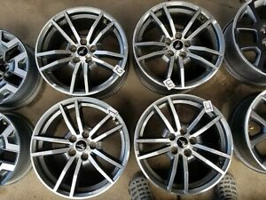2015 2017 Ford Mustang Factory 18 Wheels Rims Oem Factory Set Of4 Free Shipping