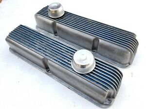 Vintage Cal Custom Valve Covers Ford Fe 352 390 406 427 428 Mustang Galaxie Merc