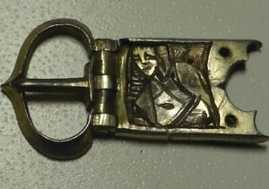 Silver Gilt Medieval Buckle Plate