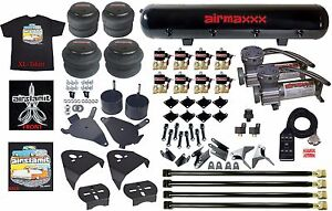 Chevy S10 Air Kit Pewter Air Compressors 25 26 Bags 1 2 Valve Shirt Blk Avs 7