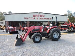 2010 Mahindra 5035 Tractor Loader 4x4 Only 1006 Hours