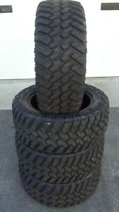 4 285 55r20 Nitto Trail Grappler Mud Tires 2855520 55 20 R20 10 Ply M T Takeoffs