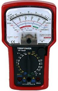 Tekpower Tp7050 7 function High Accuracy Analog Multimeter With Battery Tester