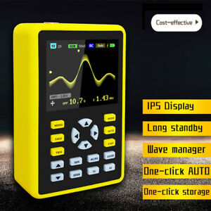 New Handheld Digital Oscilloscope 100mhz 500ms s Dso 2 4 Ips Lcd Display V0w5