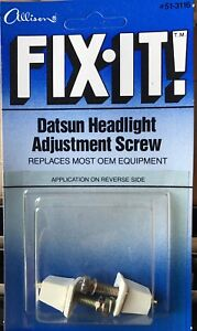 Oem Datsun Headlight Adjustment Screw 51 3116 New Old Stock Lot Of 5 Boxes Of 6