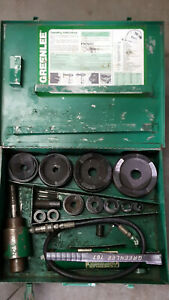 Greenlee 7310 Hydraulic Knockout Set 1 2 To 4