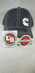 Cummins Diesel Hat rare And Stickers For Crane Oilfield Mining Construction