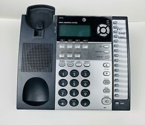 At t 1070 4 Line Corded Business Desk wall Phone W Caller Id