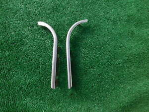 1941 1946 Chevrolet Truck Eyebrow Grille Trim Both Sides 1942 Chevy Pickup