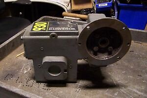 Winsmith 50 1 Worm Gear Speed Reducer 1 30 In Hp 1750 Rpm 5 8 Bore 930mdnd