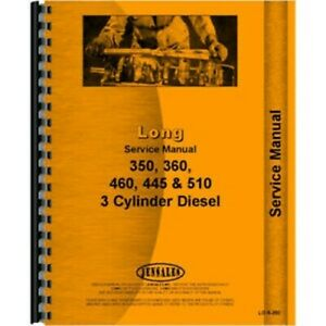 Tractor Service Manual For Long 445